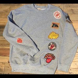 Tops - Madeworn Rolling Stones sweatshirt